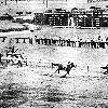 Devil Diver winning the 1941 Hopeful Stakes.