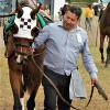 Efraín Sánchez has worked as a groom with trainer, Glenn Thompson for over 20 years. He worked with horses in Mexico prior to coming to the U.S.