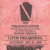 1990 Preakness Stakes ticket.